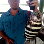 Fishing for Sheepshead