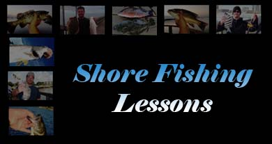Florida Shore Fishing Lessons
