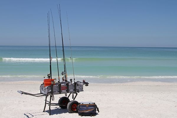 surf fishing gear fishing from florida shores